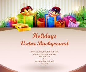 holiday Christmas colorful backgrounds vector 01