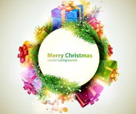 holiday Christmas colorful backgrounds vector 03