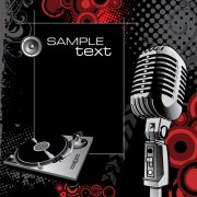 Link toVector set of microphone design elements graphics 01