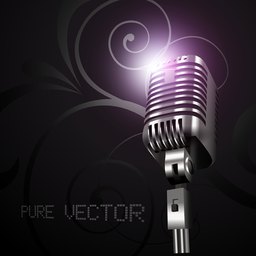 microphone graphic design
