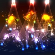 Link toSet of neon people elements vector graphics 03