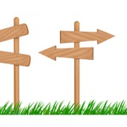 Link toSet of wooden signs and indicator board vector graphics 05