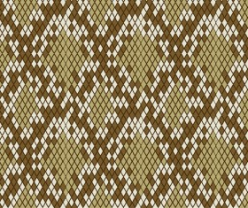 Vector set of Snake skin pattern elements 01