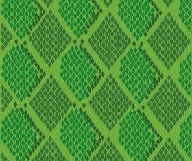 Vector set of Snake skin pattern elements 05
