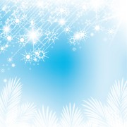 Link toSet of shiny snowflakes background art vector 02