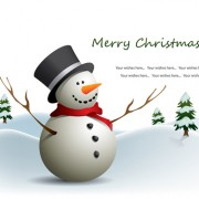 Link toCute xmas snowman design elements vector set 05