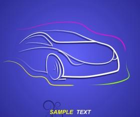 Creative transport design elements vector set 01