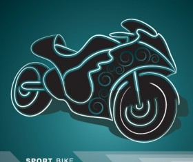 Creative transport design elements vector set 03