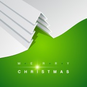 Link toSet of origami xmas greeting cards design vector 05