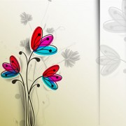 Link toFree vector hand drawn flower material