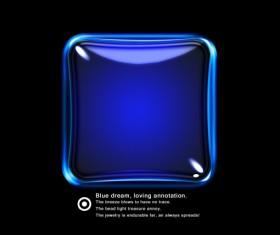 Blue dream glass texture psd material