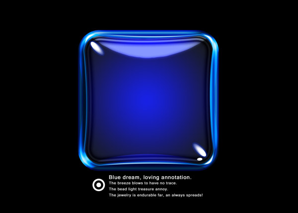 Blue dream glass texture psd material