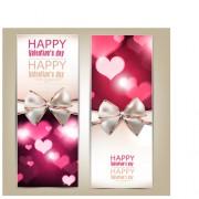 Link toRomantic happy valentine day cards vector 03