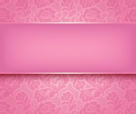 Fabric of Floral Patterns design vector set 03