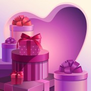 Link toSweet valentine day hearts cards vector 04