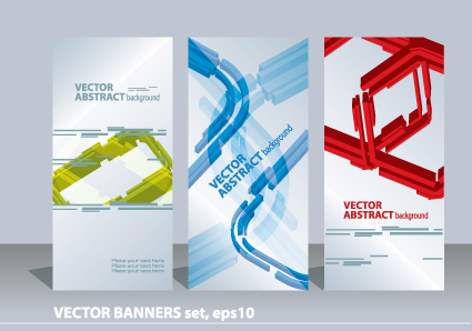 Vertical Banner Design Vector – images free download