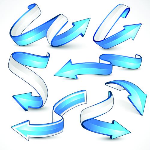 Creative Arrow Logo Design Vector Graphics 01