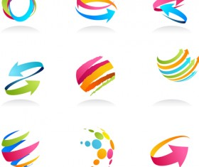Logo of Arrows design vector 01