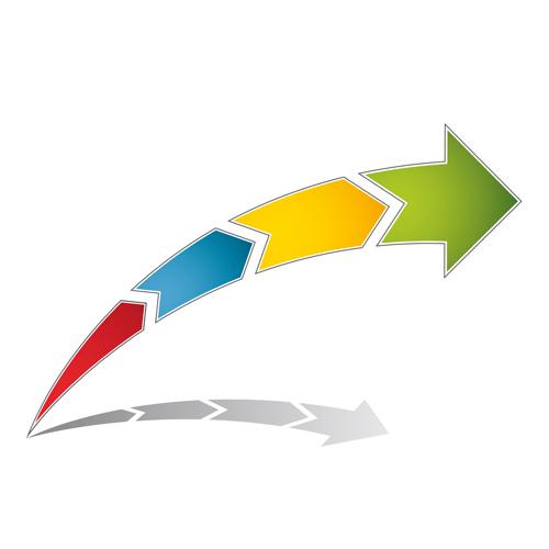 arrows logo vector - photo #6
