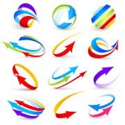 Link toLogo of arrows design vector 05