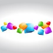 Link toBackground geometric shapes design elements vector 03