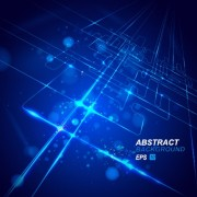 Link toAbstract blue light vector backgrounds 03
