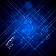 Link toAbstract blue light vector backgrounds 05