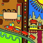 Link toCartoon bright color illustration vector graphics 02