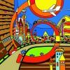 Cartoon Bright color illustration vector graphics 03