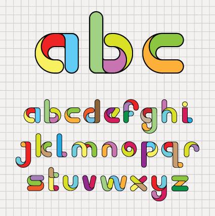 P Alphabet Design ... Bright Color 3d Alphabet Vector Bright Color 3d Alphabet Vector 258