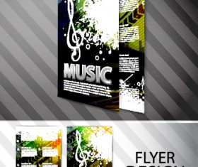 Set of Modern Brochure and Flyer design elements vector 02