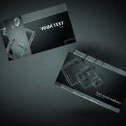 Link toVector set of creative business card elements 04