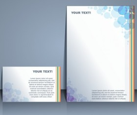 Business templates with cover brochure design vector 01
