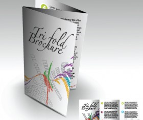 Business templates with cover brochure design vector 02