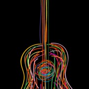 Link toColor lines musical instruments vector 02