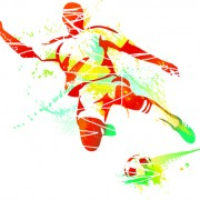 Link toColored sports elements vector art 01