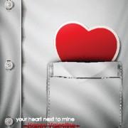 Link toCreative heart art design elements vector 05