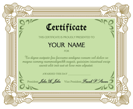 Diplomas and certificates design vector template 01 vector cover diplomas and certificates design vector template 01 yadclub Image collections