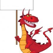 Link toLovely dragon cartoon elements vector 03