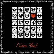 Link toElegant hearts valentine ornaments art vector 02