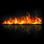 Link toDifferent shapes of the fire elements vector 06