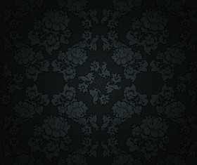 Fabric of Floral Patterns design vector set 04