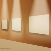Link toSet of bright frame on a wooden wall vector 01