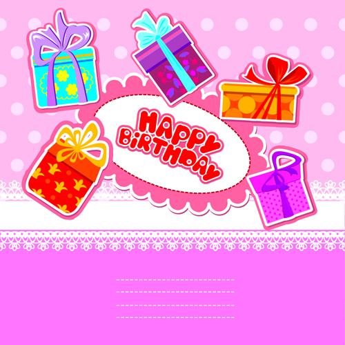 Happy birthday gift cards design vector 03 vector birthday free happy birthday gift cards design vector 03 bookmarktalkfo Images