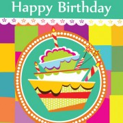 Link toVector set of happy birthday cake card material 01