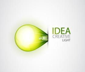 Idea creative light design elements vector 01