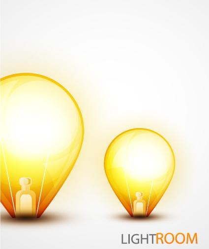 Idea creative light design elements vector 05
