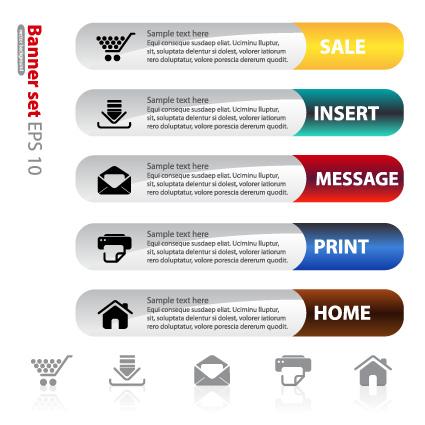 Set of website Information banner elements vector 02