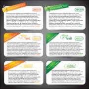 Link toSet of website information banner elements vector 03