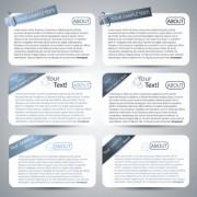 Link toSet of website information banner elements vector 04
